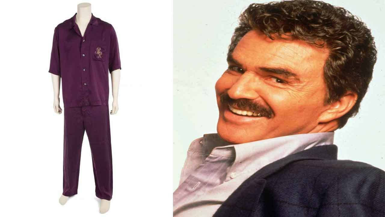 Burt Reynolds' boots, silk pajamas, license to carry among items sold at auction