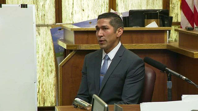 Jonathan Aledda testifies in retrial