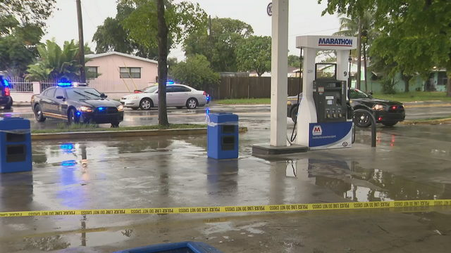 19-year-old shot outside Miami Gardens gas station