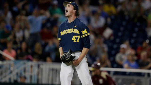 Michigan blanks Seminoles 2-0 in College World Series