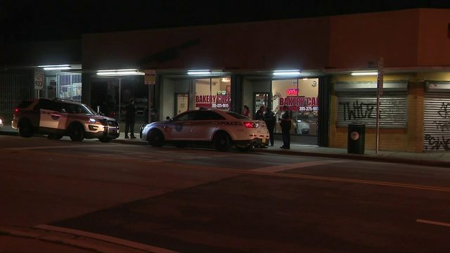 Bakery owner opens fire after robbers steal his wallet