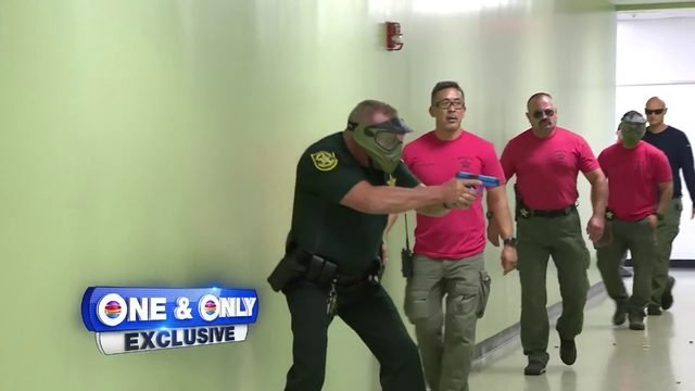 Broward County deputies begin active shooter training sessions