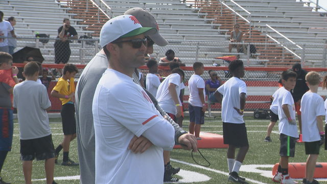 Hurricanes hold youth camp in Homestead