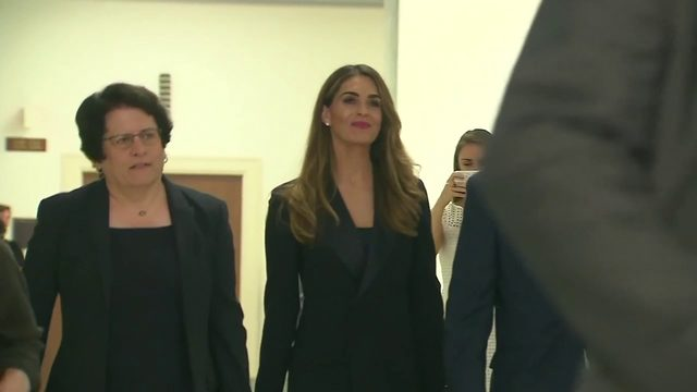 Former top White House adviser Hope Hicks under scrutiny