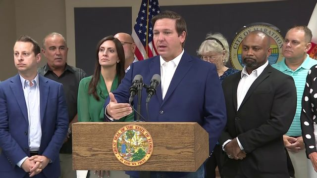 DeSantis announces Hurricane Irma recovery money going to Monroe County