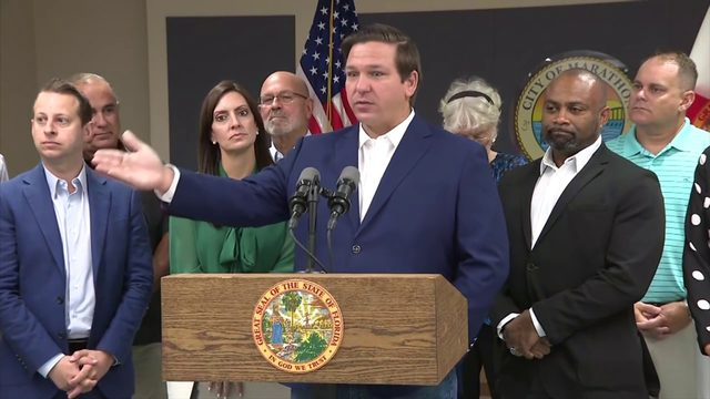 Gov. Ron DeSantis signs nearly $91 billion state budget