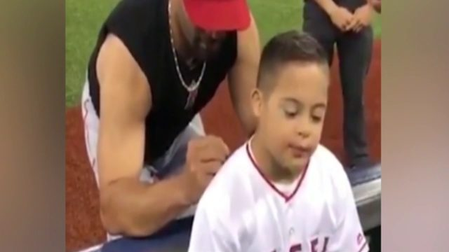 Video of South Florida boy, Los Angeles Angels baseball player goes viral