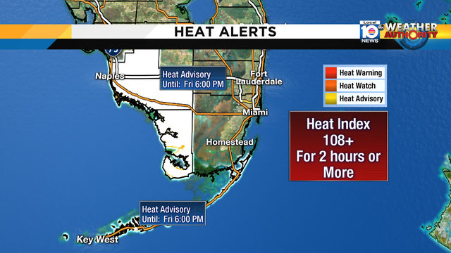 South Florida to feel the heat on first day of summer