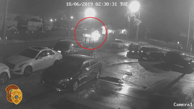 Surveillance video released in hit-and-run crash involving taxi