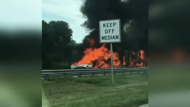 Boy Scout troop back in South Florida after fiery Turnpike crash