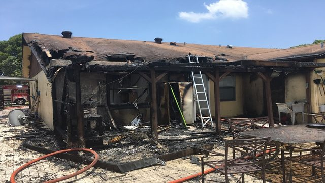 Grilling steak on patio leads to house fire in Deerfield Beach