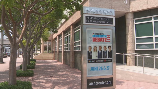 Miami prepares to host long list of Democratic presidential candidates