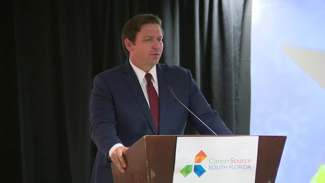 DeSantis congratulates students graduating from pre-apprenticeship program