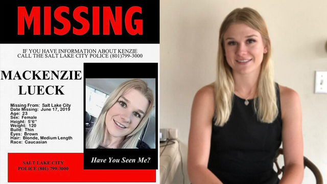 Family of missing student Mackenzie Lueck pleads for help finding her