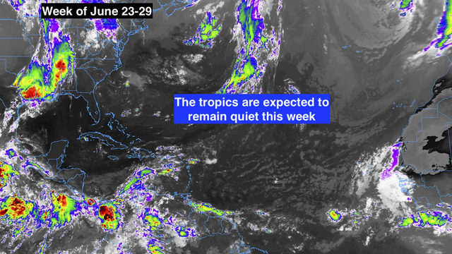 Atlantic, Caribbean, Gulf of Mexico expected to remain quiet this week