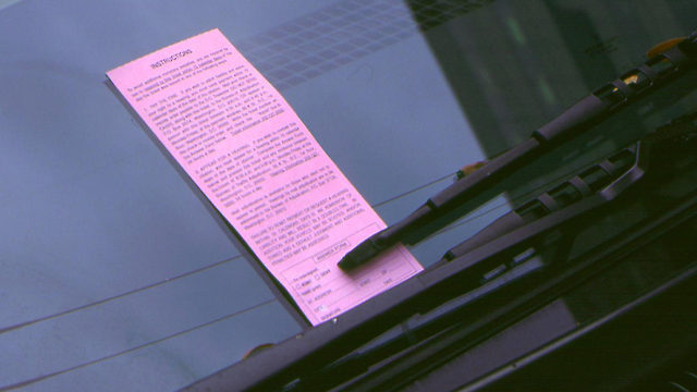 Drivers hit with parking tickets in Las Vegas can pay with school supplies
