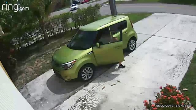 Ring video shows man poop in driveway of North Lauderdale home