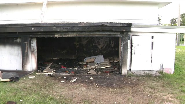 Several thousand dollars' worth of football equipment destroyed in fire