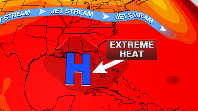 The heat is here to stay in South Florida