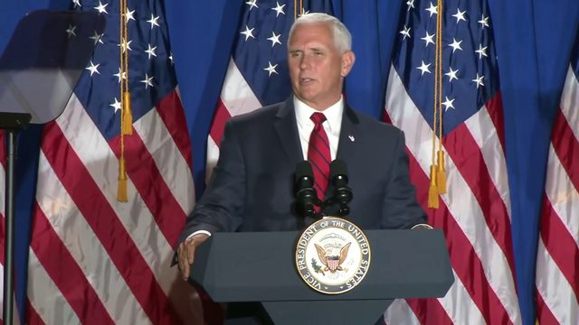 Pence launches 'Latinos for Trump' coalition in Miami