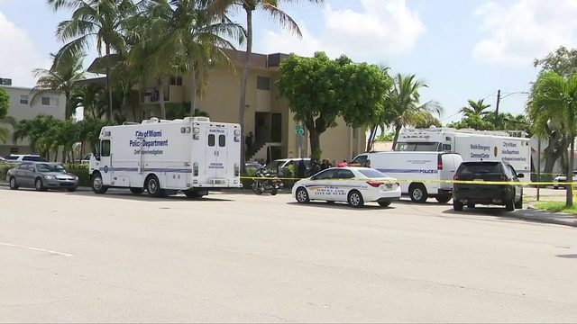 Man shot, killed by police after stabbing woman in Miami