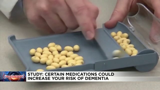 Daily dose of certain medications could increase risk for dementia, study finds