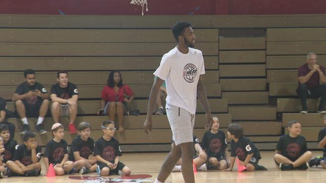Derrick Jones Junior prepares for bigger role with Heat