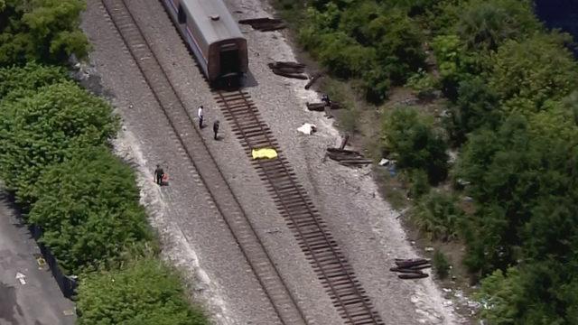 Person struck, killed by Amtrak train in Pompano Beach