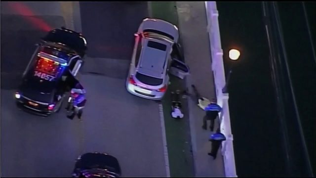Carjacking suspects in custody after police chase