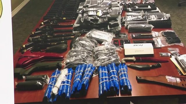 25 people arrested for shipping AR-15 parts to South America, authorities say