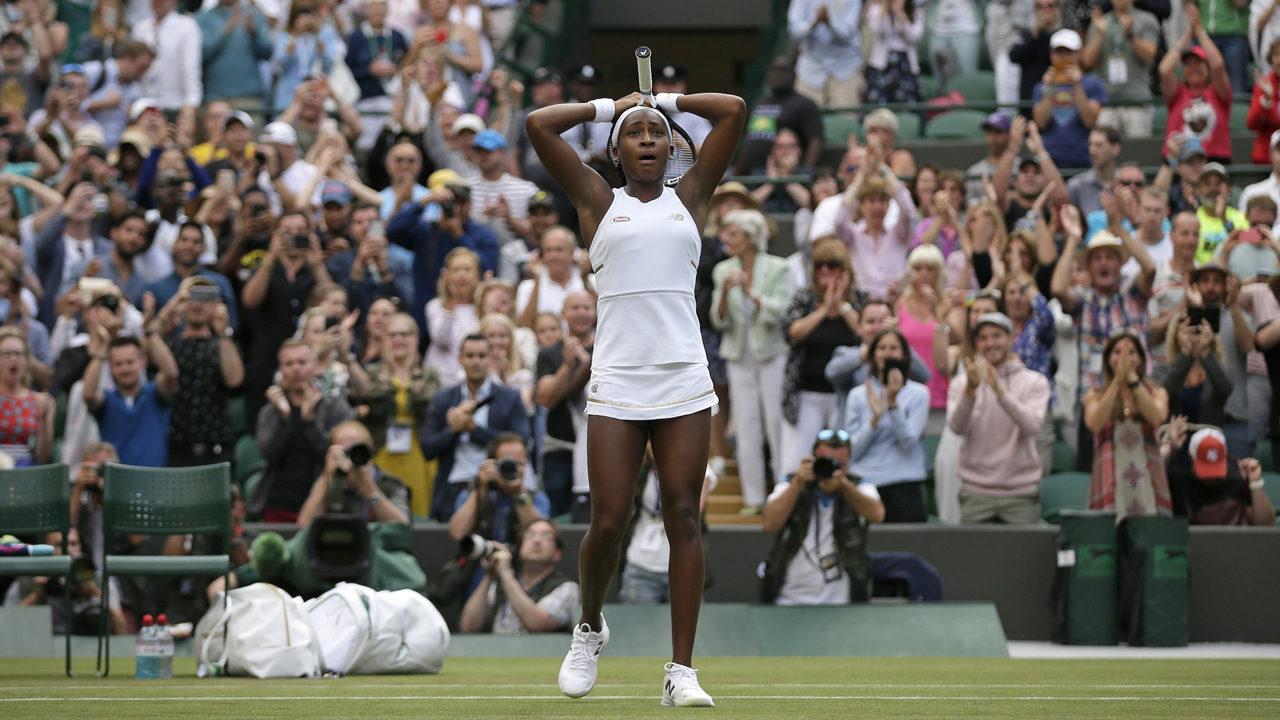 Delray Beach teen Coco Gauff beats Venus Williams at Wimbledon