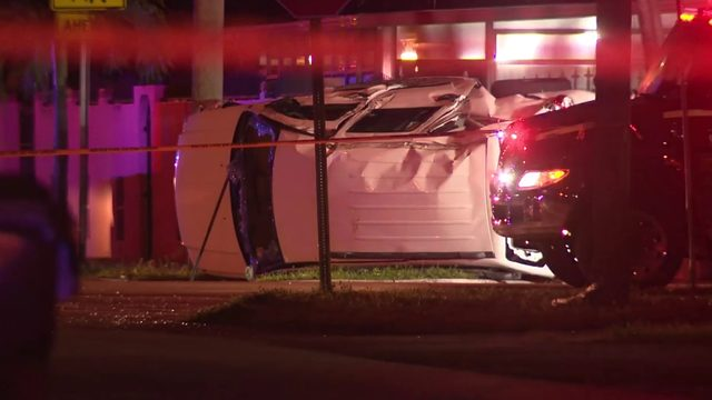 Woman killed, man injured in hit-and-run crash in Hialeah
