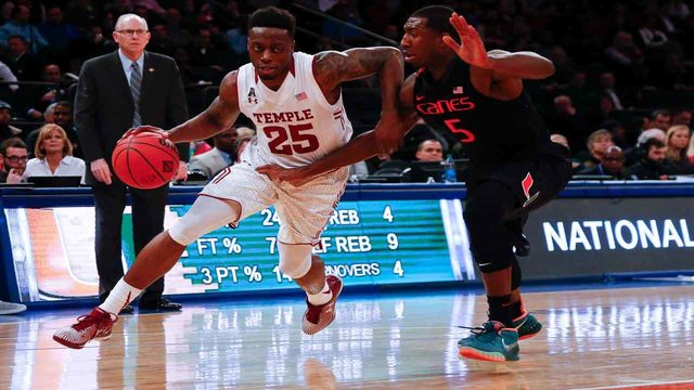 Hurricanes headed to Brooklyn in December for tip-off with Temple