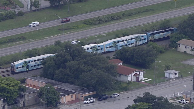 Tri-Rail train strikes pedestrian in Opa-locka