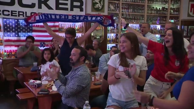South Florida soccer fans gather to watch World Cup semi-final