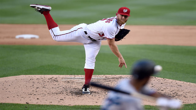 Strasburg, Nationals beat Marlins