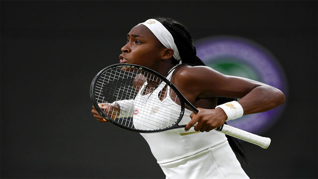 Gauff, 15, wins again at Wimledon