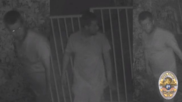 Peeping Tom masturbates while looking into bedroom in Davie