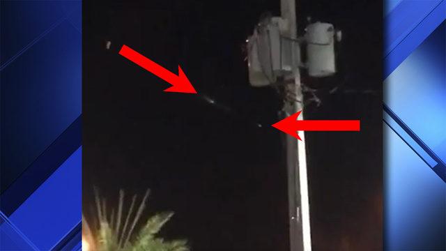 Has the invasion begun? Strange lights streak across South Florida sky