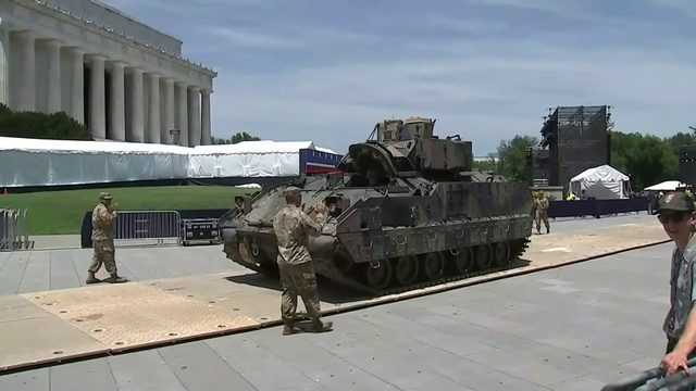 President Trump's planned July 4 celebration drawing controversy
