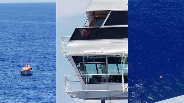 Crew member falls off Carnival cruise ship near Cuba