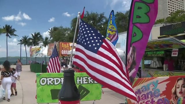 South Florida gets set to celebrate Independence Day