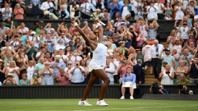 South Florida's Coco Gauff, 15, defeats Polona Hercog at Wimbledon