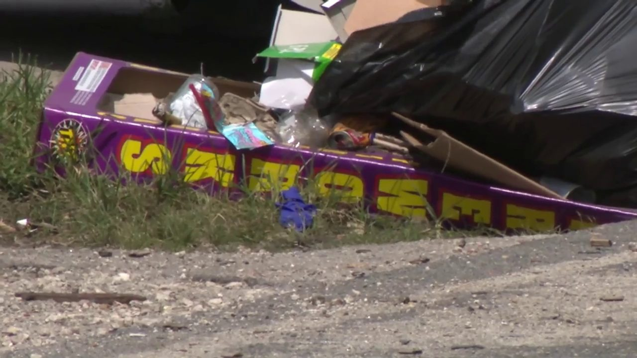Man killed, teen injured in separate fireworks-related