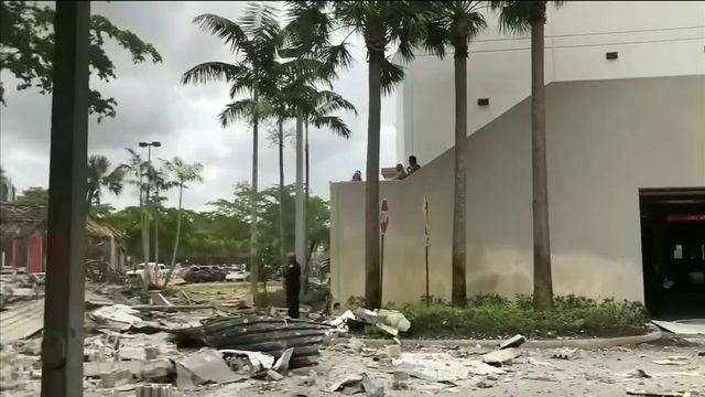 23 injured in explosion at Plantation shopping plaza