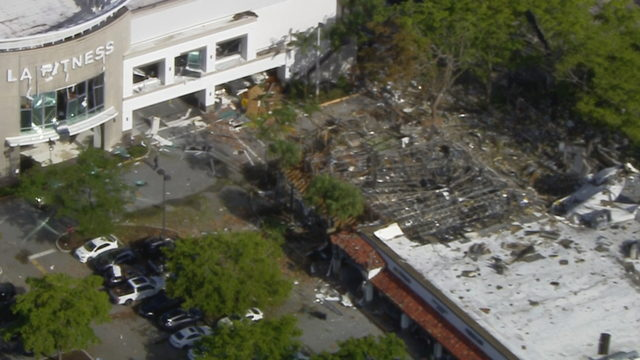 Day after Plantation explosion, investigators try to determine cause