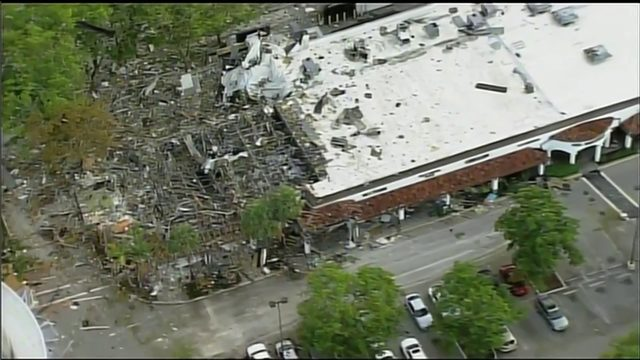 Cause of strip mall explosion 'remains undetermined'