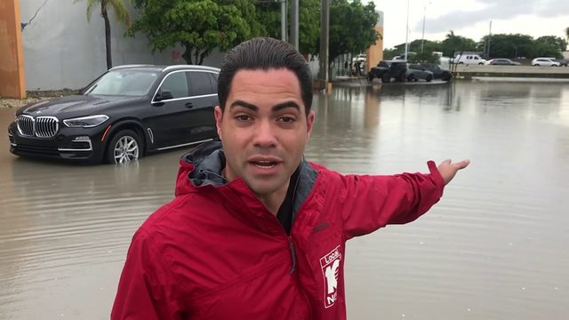 Heavy rain brings flood of trouble to Doral
