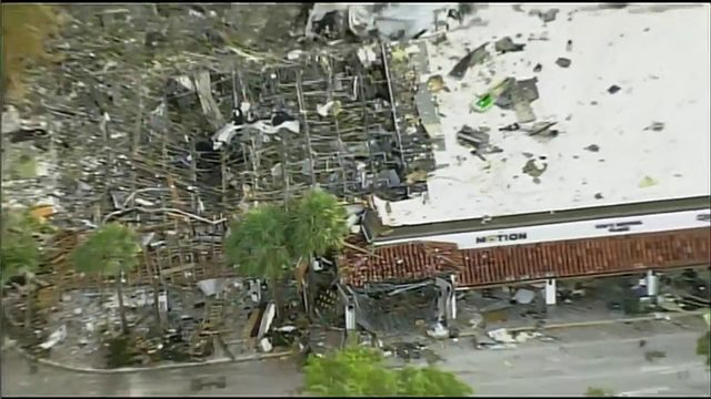 All businesses in building where Plantation explosion occurred expected…