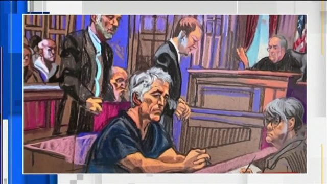 Prosecutors charge Epstein with molesting dozens of girls